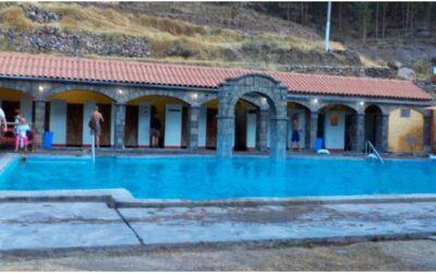 Baños termales de Calera Huayllay