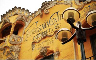 La Casa Courret (estudio del fotógrafo Adolfo Dubreuil)