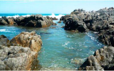 Pozas naturales en la Playa Tanaka