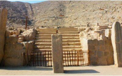 Restos arqueológicos de Sechín