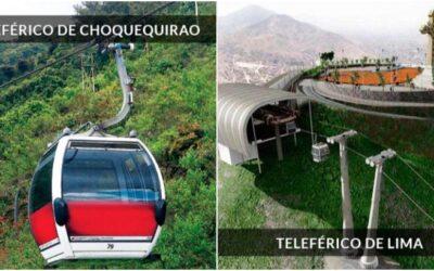 Teleféricos en Choquequirao y Lima serán creados en el actual gobierno